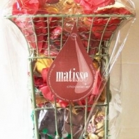 Gourmet Chocolate Filled Corporate Holiday Gift Basket Umbrella Stand