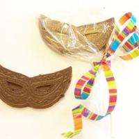 Gourmet Chocolate Purim Masks