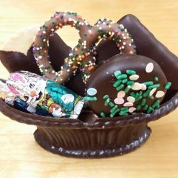 Edible Gourmet Chocolate Basket Small