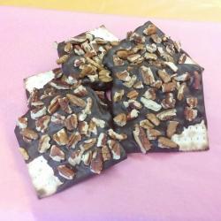 Gourmet Chocolate Passover Matzoh Walnut Dark