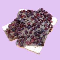 Gourmet Chocolate Passover Matzoh Cranberry Milk