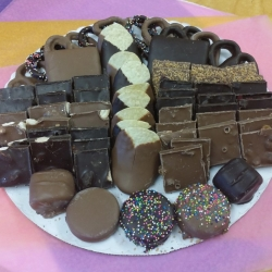 Gourmet Chocolate Passover Platter Large