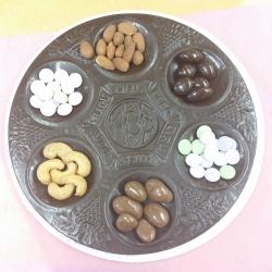 Gourmet Chocolate Passover Seder Platter Filled