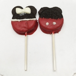 2018021 Mickey and Minnie Mouse Cookie Pops