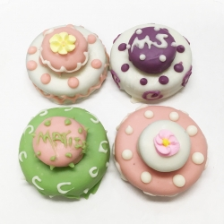 2018010 Two Tier Mini Wedding Cake Cookies