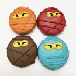 Ninja Turtles in Masks Cookies