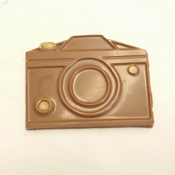 Camera Milk Chocolate with Gold