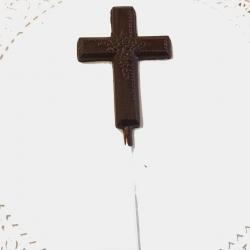 Communion Confirmation Cross Lollipop Style #3 Dark