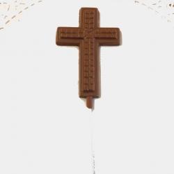 Communion Confirmation Cross Lollipop Style #5 Milk