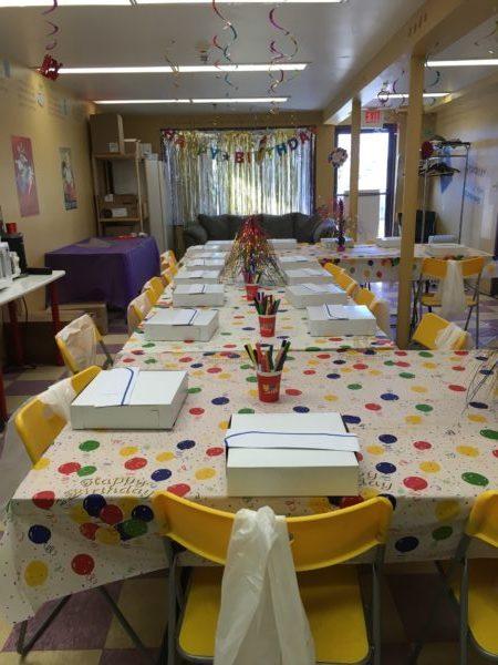 Matisse Chocolatier Party Room