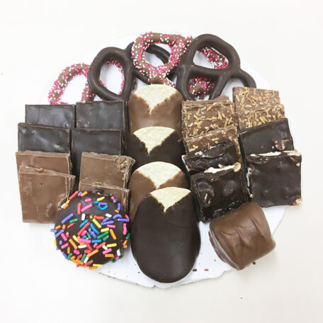 8 Inch Chocolate Platter