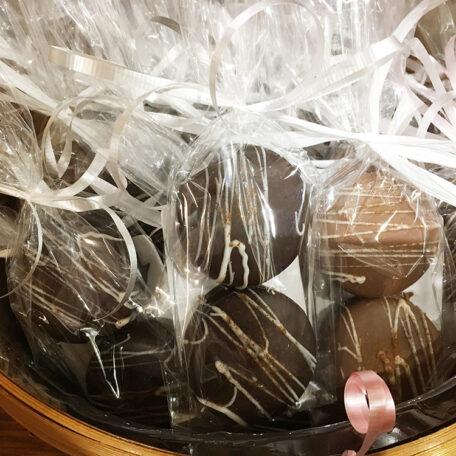 Chocolate Dipped Cinnamon Cookies