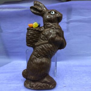 14oz Chocolate Bunny with Basket