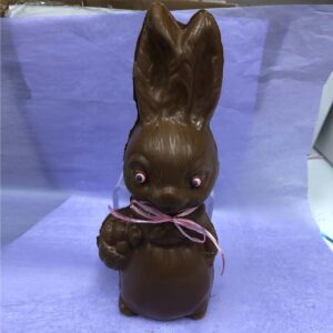 15oz Chocolate Bunny with Basket